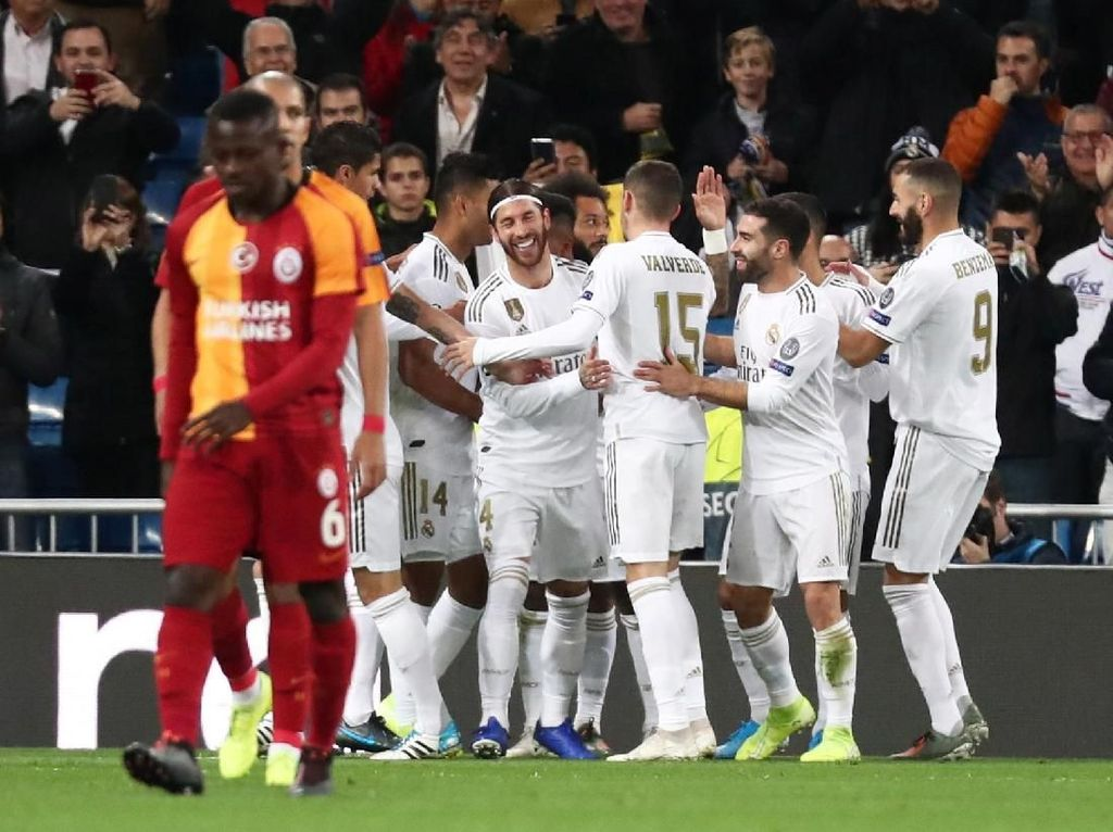 Madrid Vs Galatasaray: Rodrygo Hat-trick, Los Blancos Pesta 6 Gol