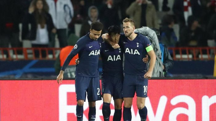 Son Heung-Min dua gol, Tottenham menang 4-0 di kandang Red Star (REUTERS/Marko Djurica)