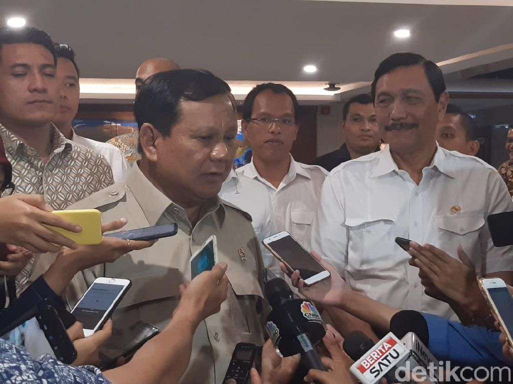 Harta Karun yang Dibahas Luhut-Prabowo Disurvei Tahun Depan