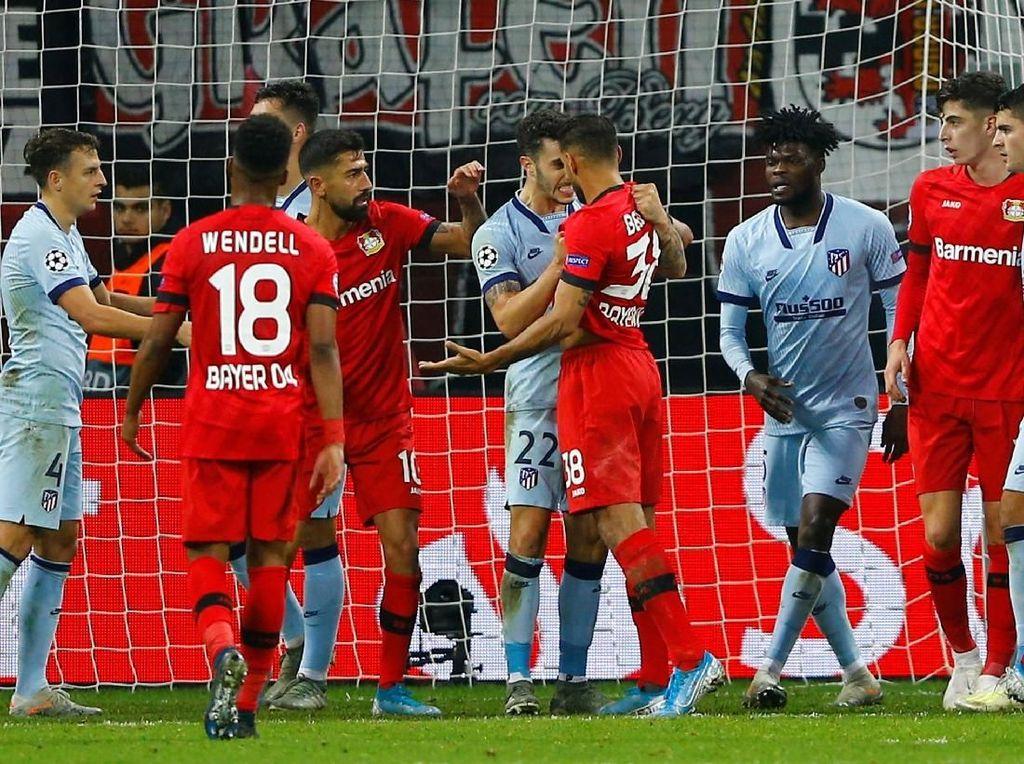 Leverkusen Vs Atletico: Los Colchoneros Takluk 1-2