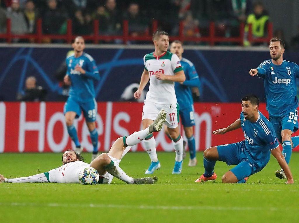 Lokomotiv vs Juventus: Bianconeri Menang 2-1, Lolos ke Fase Gugur