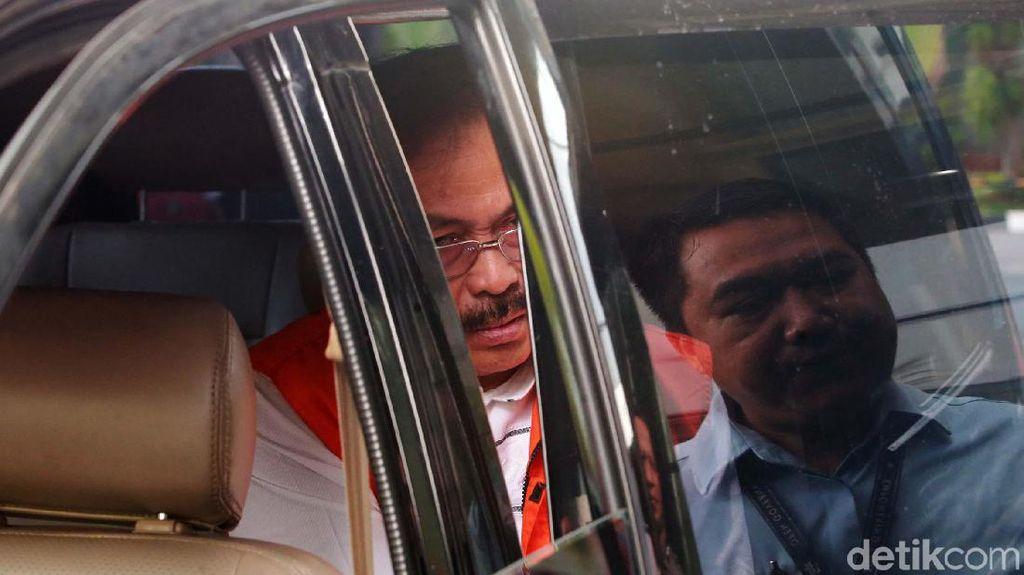Pemeriksaan Gubernur Nonaktif Nurdin Basirun
