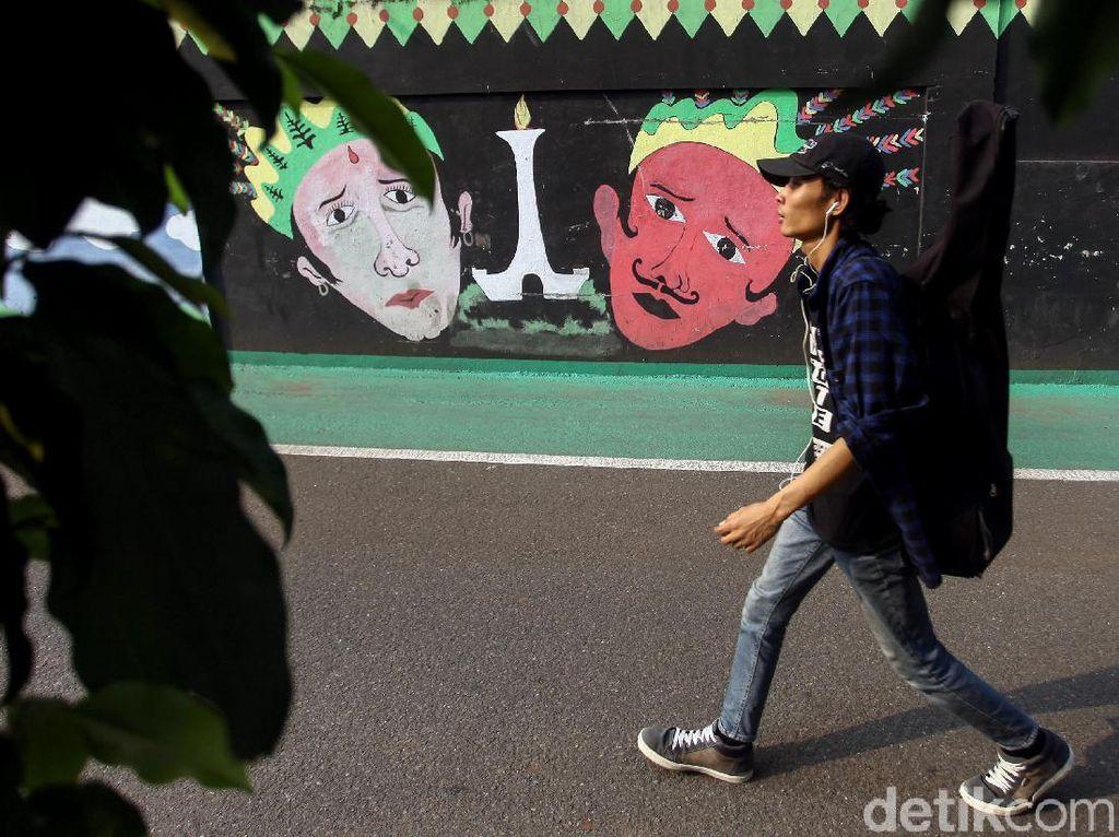 Mural Warna-warni Hiasi Kawasan Cipete