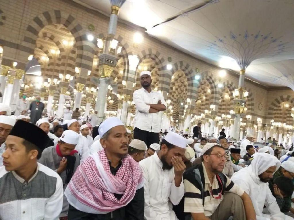 Kesan Mendalam Marbut dan Majelis Taklim DKI Ibadah di Kota Nabi