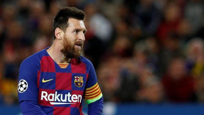 Lionel Messi dinobatkan sebagai playmaker terbaik dunia 2019 versi IFFHS. (Foto: REUTERS/Albert Gea)
