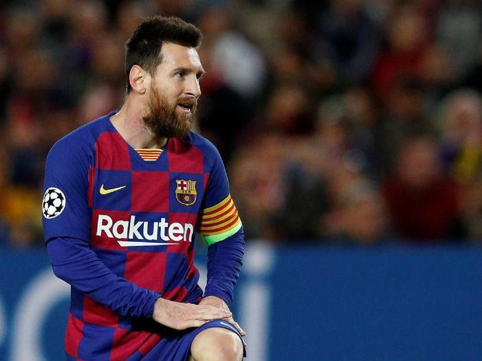 Barcelona tak bisa apa-apa tanpa Lionel Messi musim ini (REUTERS/Albert Gea)