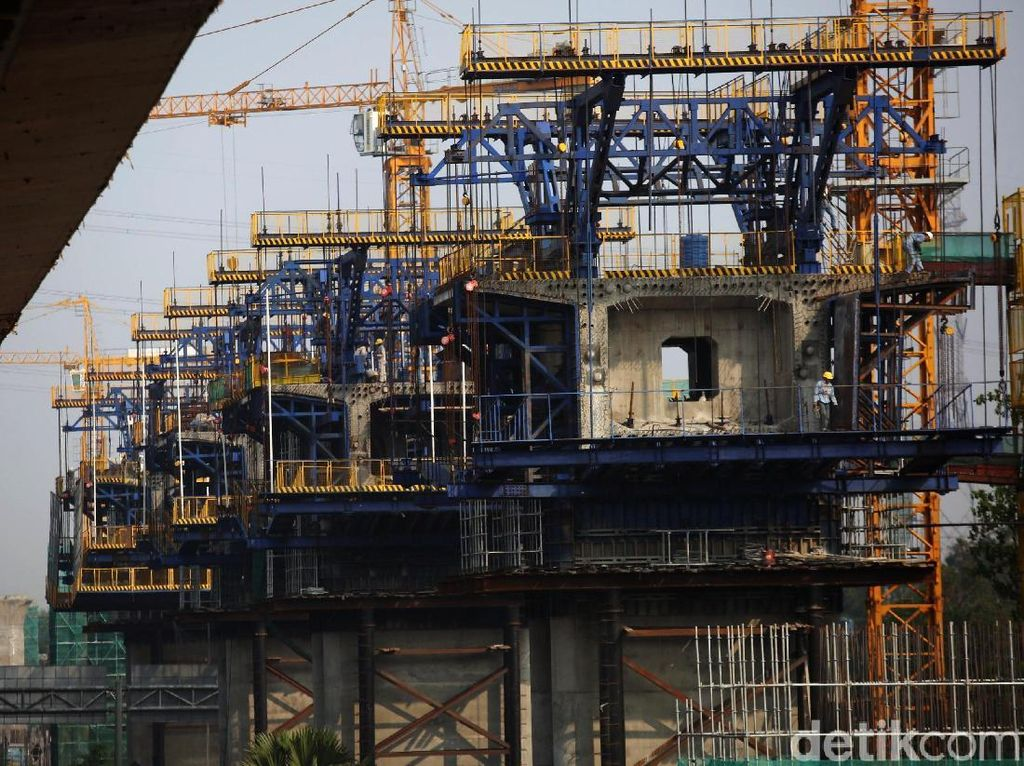 Pembangunan Kereta Cepat Jakarta-Bandung Terus Dikebut