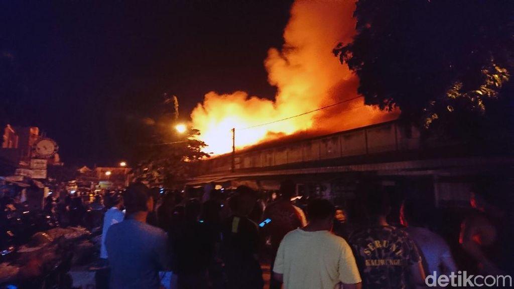 Pasar Ngunut, Tulunggung Ludes Terbakar