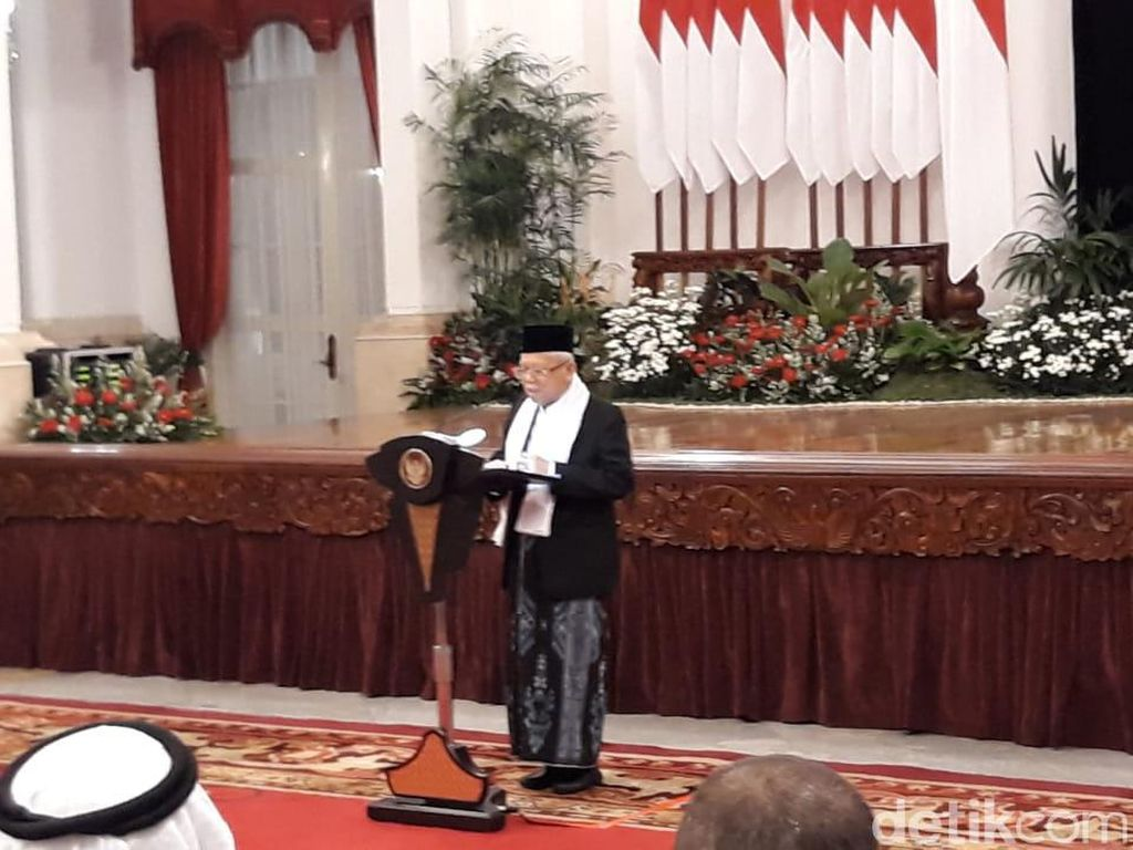 Maruf Bicara Teladani Semangat Perubahan Muhammad untuk Indonesia Maju