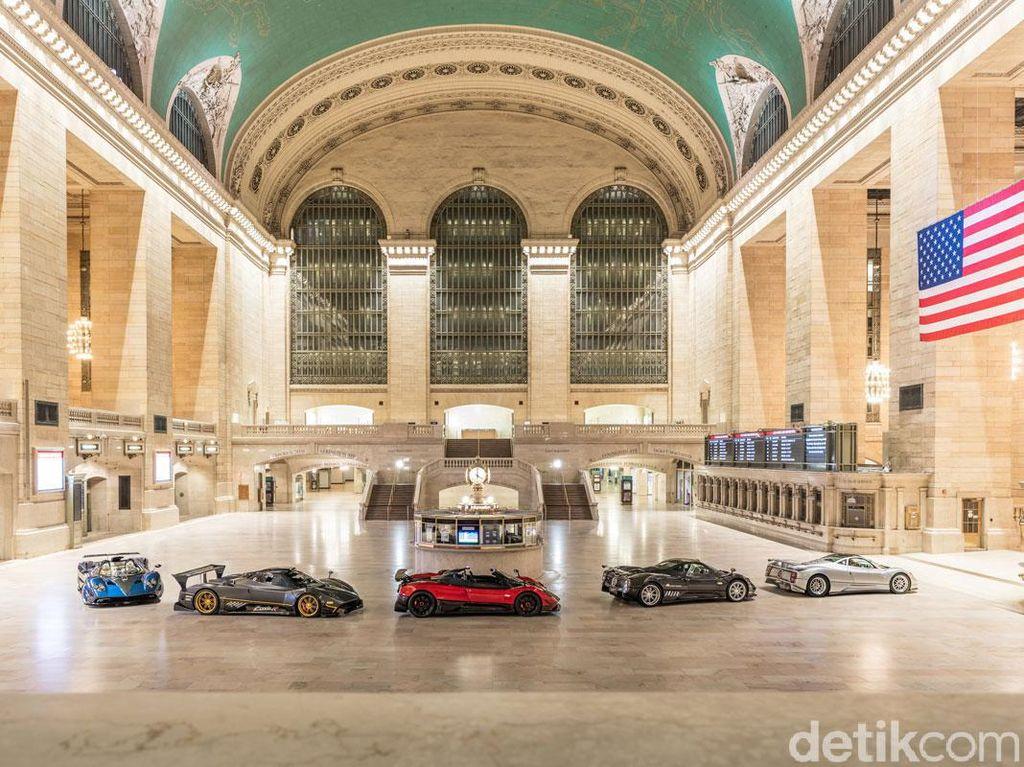 Grand Central Station New York Diserbu Mobil Sport Super Mahal