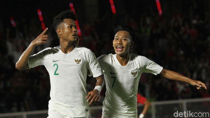 Pelatih timnas Indonesia U-19 Fakhri Husaini senang karena timnya lebih efisien saat menghantam Hong Kong 4-0. (Foto: Rifkianto Nugroho/detikSport)