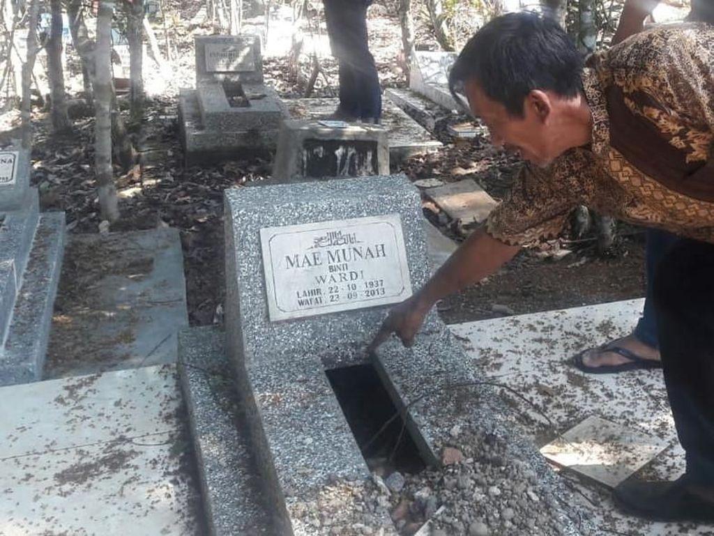 Puluhan Makam di Tasik Terbongkar Misterius, Polisi: Jenazah Tak Diambil