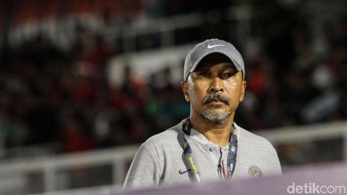 Pelatih timnas Indonesia U-19 Fakhri Husaini mempertanyakan aksi boikot suporter pada timnas. (Foto: Rifkianto Nugroho/Detikcom)