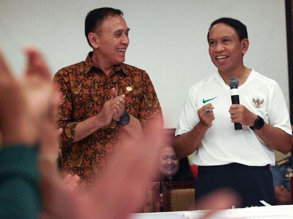 Menpora hingga Ketua PSSI Beri Semangat untuk Timnas U-23