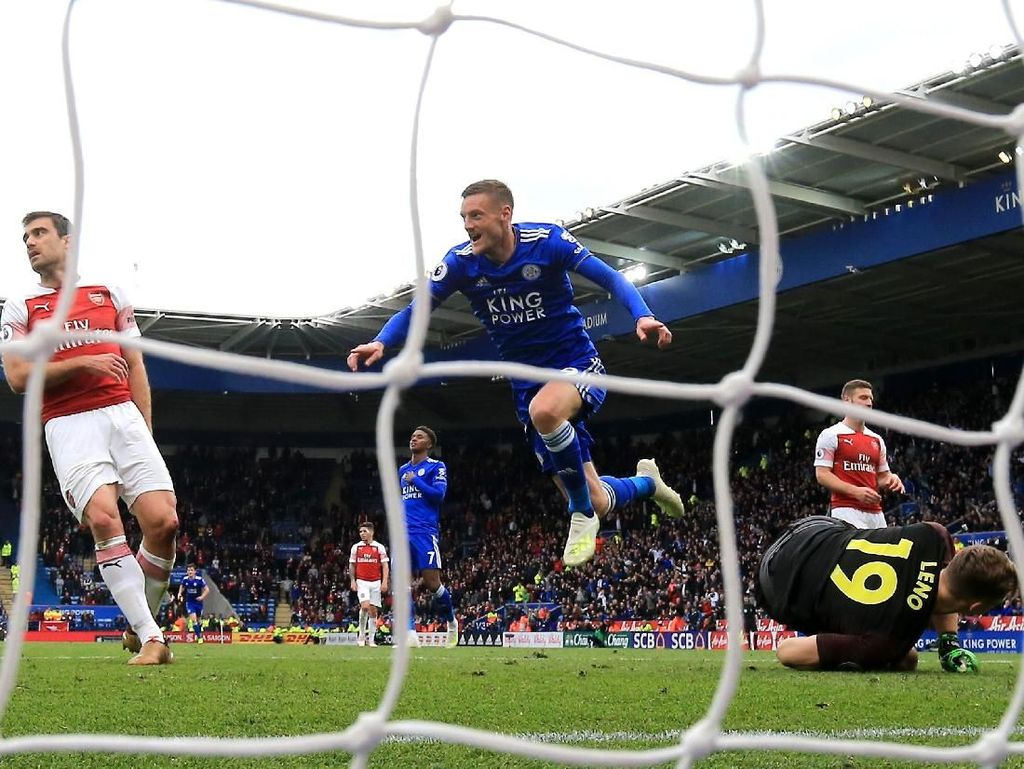 Leicester Vs Arsenal: Awas Vardy, The Gunners!