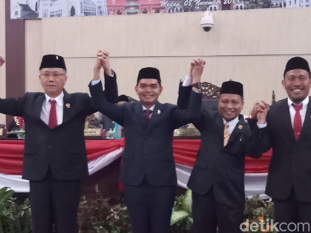 Pimpinan DPRD Medan Resmi Dilantik