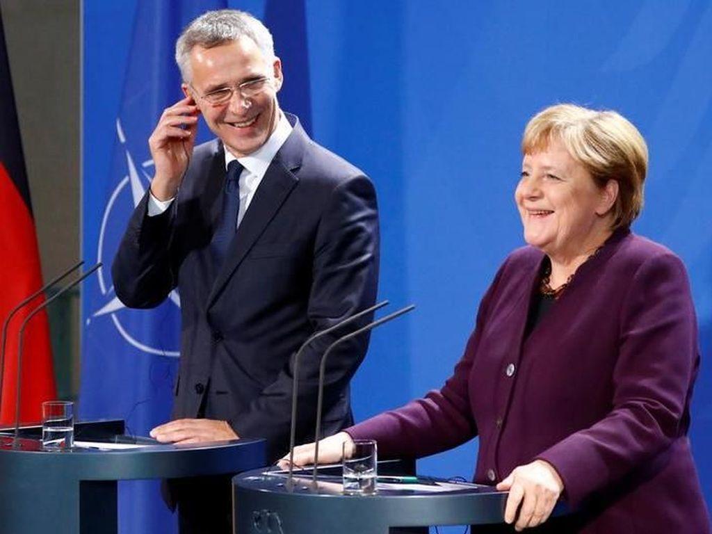 Kanselir Jerman Kecam Pernyataan Presiden Prancis Soal NATO Mati Otak