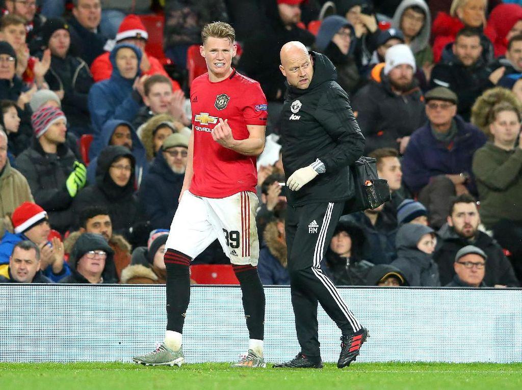 Man United Belum Bisa Pastikan Berapa Lama McTominay Menepi