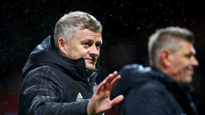 Ole Gunnar Solskjaer sudah melalui 50 pertandingan bersama Manchester United. (Foto: Alex Livesey/Getty Images)