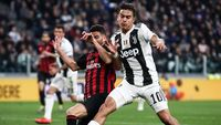 Di Allianz Stadium, Juventus Bukan Tandingan Milan