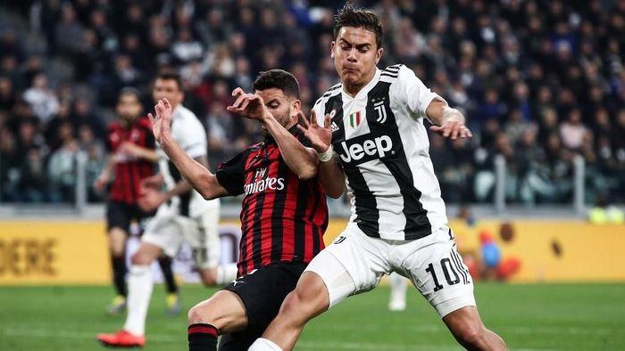 AC Milan punya rekor buruk di kandang Juventus (Foto: Isabella BONOTTO / AFP)