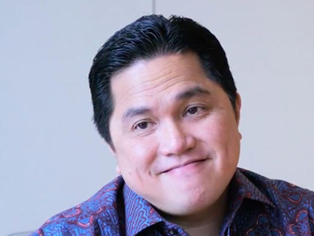 Erick Thohir Ajukan 3 Calon Bos MIND ID ke Jokowi
