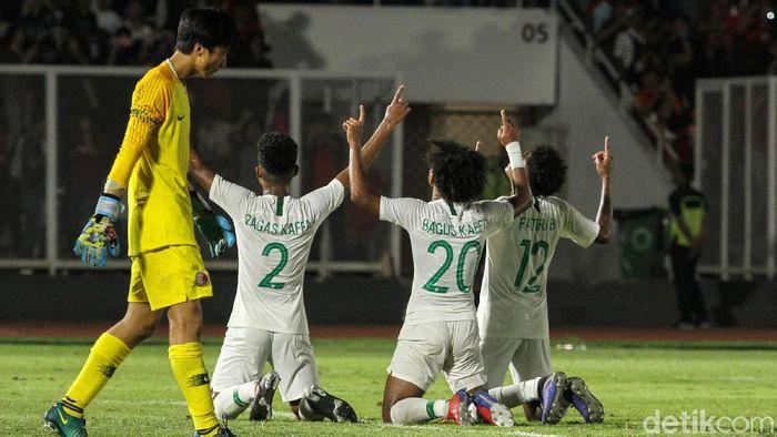 Timnas Indonesia mengejar tiket Piala Asia U-19 malam nanti (Rifkianto Nugroho/deetikSport)