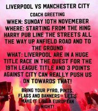 Fans Liverpool Berniat Menyambut, Man City Malah Khawatir Dilempari Lagi