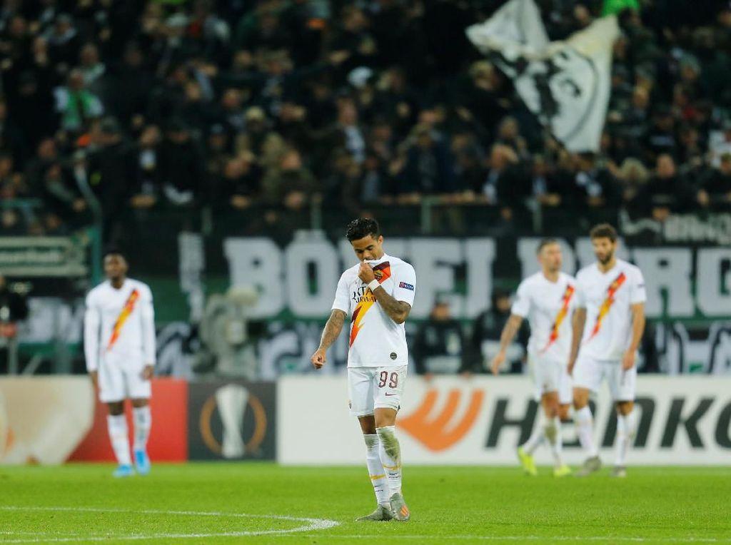 Hasil Liga Europa: Roma Takluk 1-2 di Markas Moenchengladbach