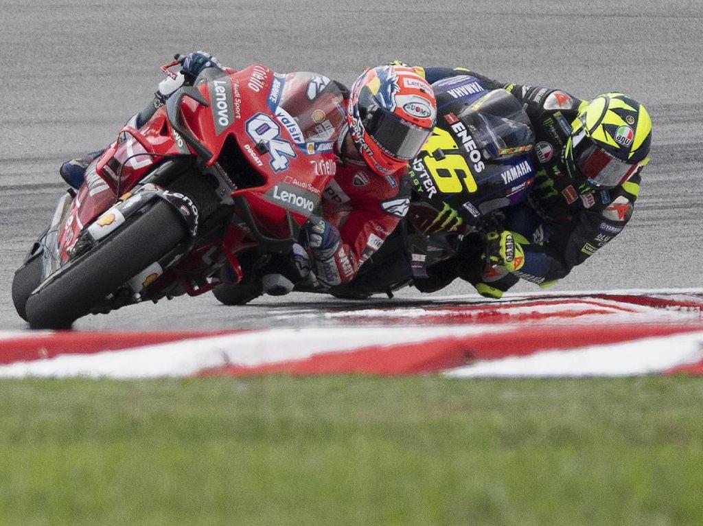 Dovizioso Jadi Pebalap MotoGP yang Paling Jarang Kecelakaan
