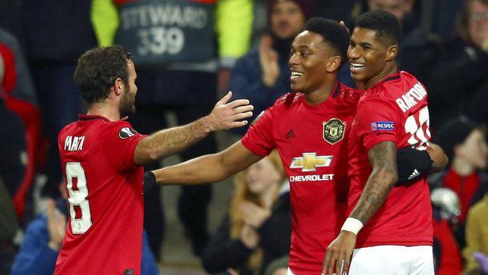 Man United bisa saja menang lebih besar. Foto: Dave Thompson / AP Photo