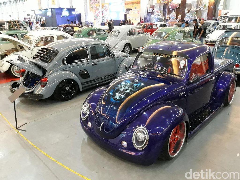Ratusan Mobil VW Klasik dan Antik Semarakkan Jogja