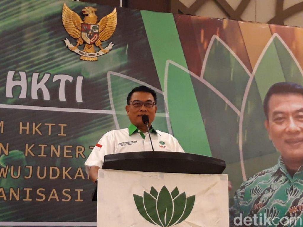 Di Rapimnas, Moeldoko Minta HKTI Bantu Pemerintah Kurangi Impor Pangan