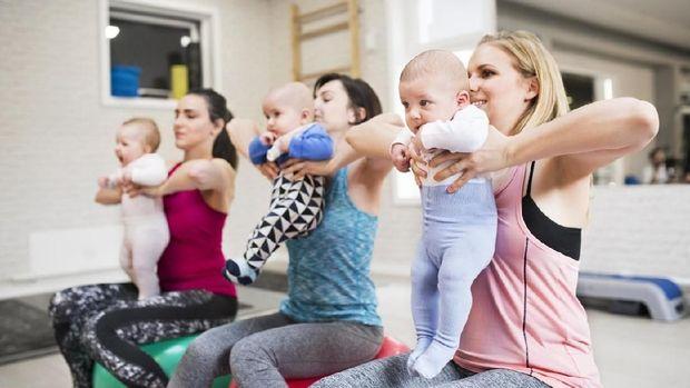 Ilustrasi olahraga bayi
