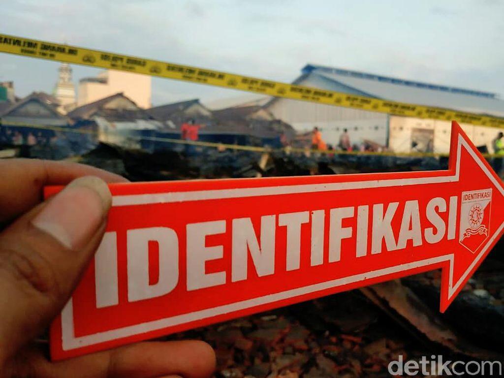 Polisi Amankan Titik Awal Kebakaran Pasar Ngunut, Penyelidikan Tunggu Labfor