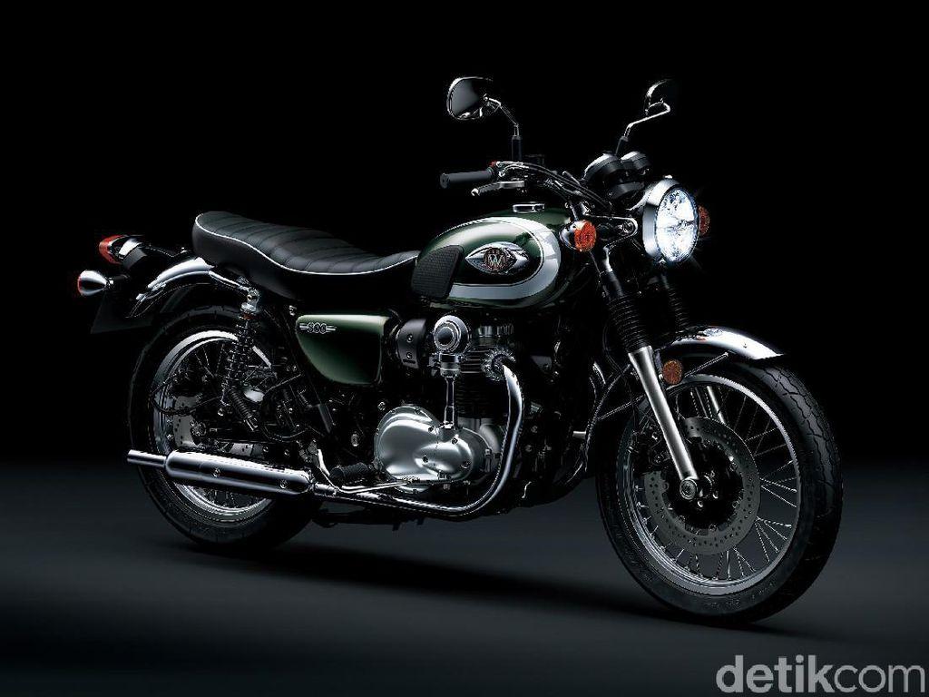 Kawasaki Bawa Moge Klasik Khas Jepang ke Indonesia