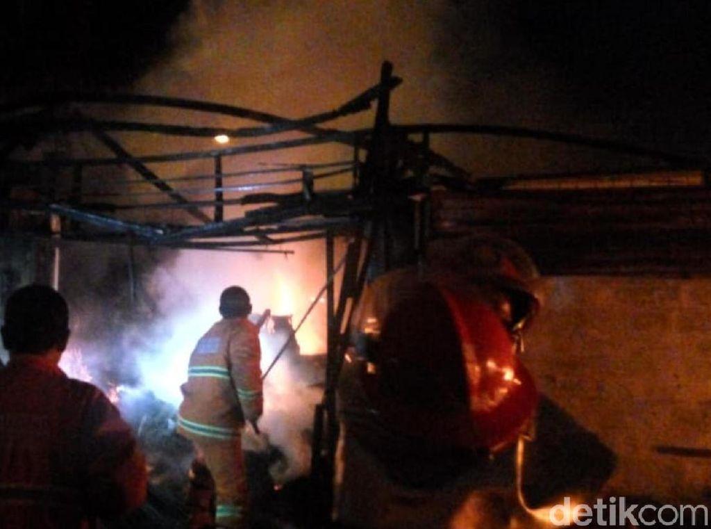Kebakaran Pasar Pelita Sukabumi Padam, Polisi: Tak Ada Korban Jiwa