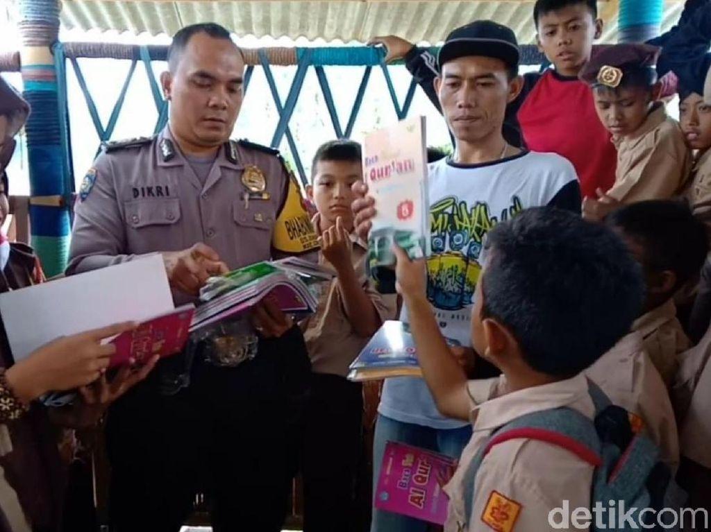 Hari Ceria, Program Duet Polri-TNI Budayakan Literasi di Sukabumi