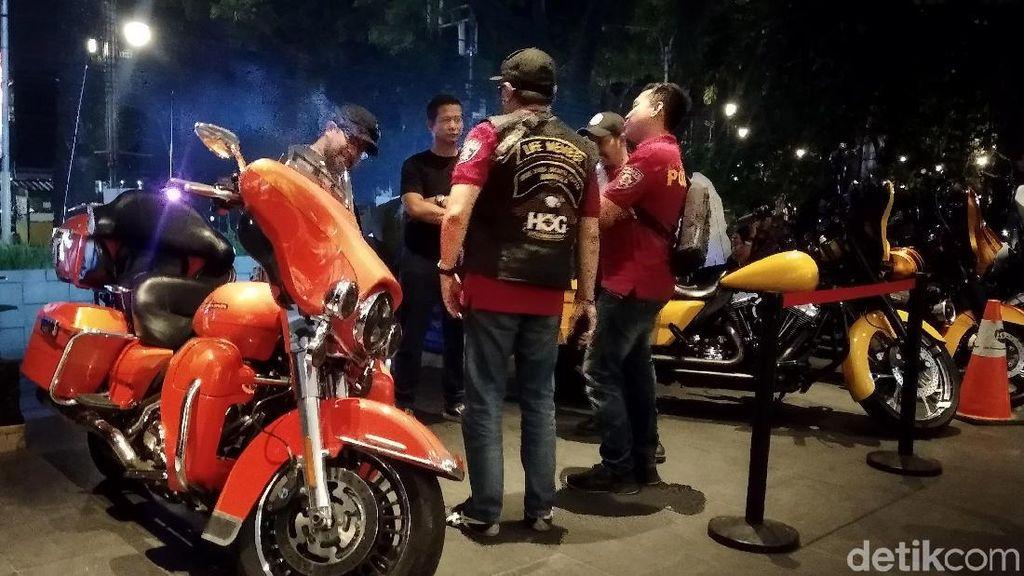 Moge Harley Ngariung di Bandung