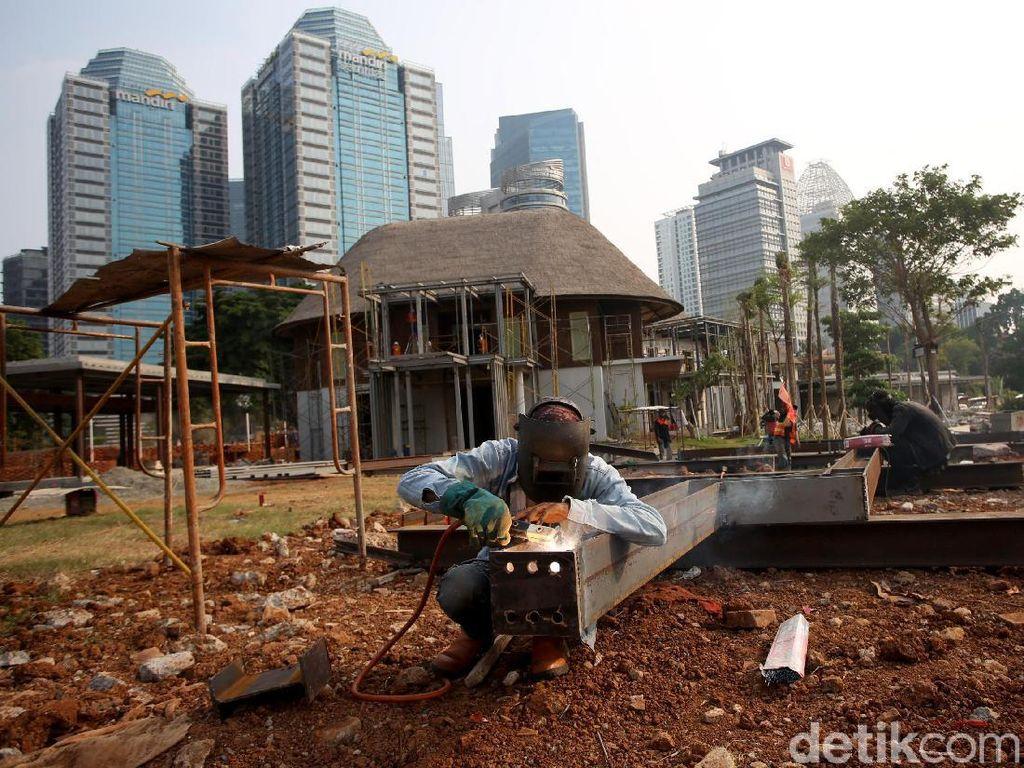Menengok Pembangunan Hutan Kota di GBK