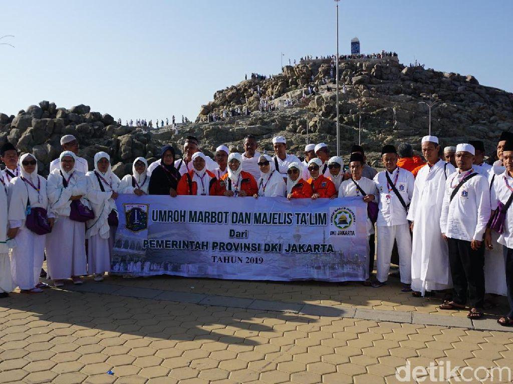 Marbut-Majelis Taklim DKI Kunjungi Jabal Rahmah, Kenang Adam-Hawa