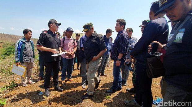 Iwan Bule Tinjau Calon Lokasi Soccer Camp PSSI di Sukabumi