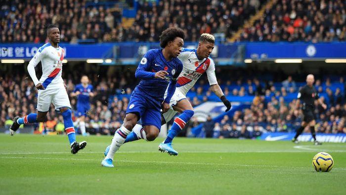 Chelsea diredam Crystal Palace 0-0 di babak pertama. (Foto: Marc Atkins/Getty Images)