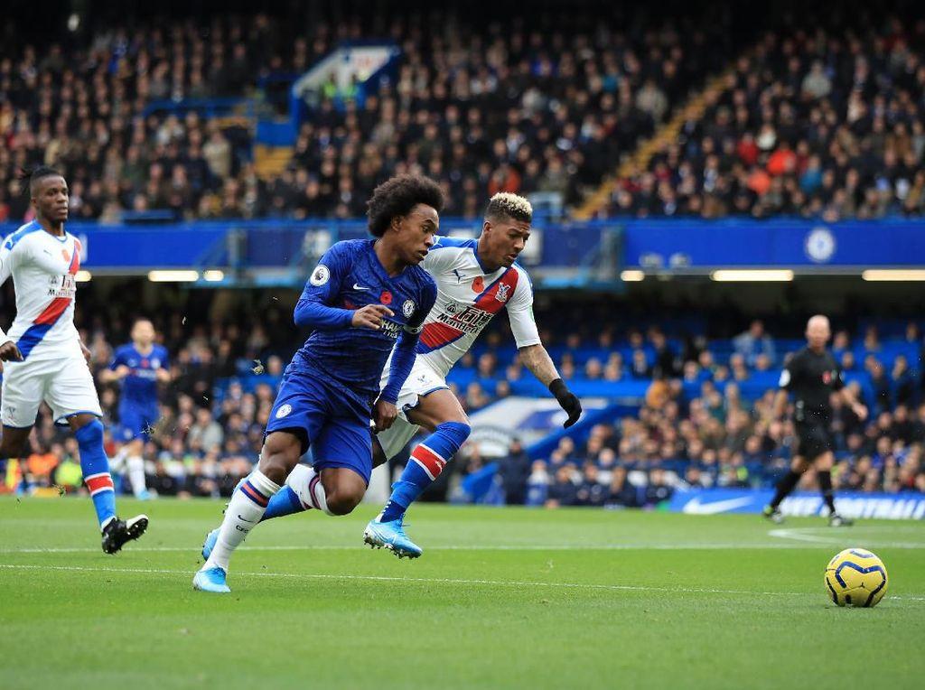 Chelsea Diredam Palace Tanpa Gol di Babak Pertama
