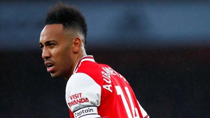Pemain-pemain Arsenal kurang menerima Pierre-Emerick Aubameyang sebagai kapten baru? (Foto: Eddie Keogh / Reuters)