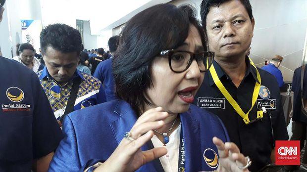Ketua DPP Partai NasDem Irma Suyani Chaniago