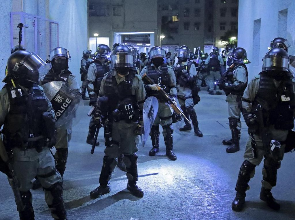 AS dan Inggris Kecam Kekerasan dalam Unjuk Rasa di Hong Kong