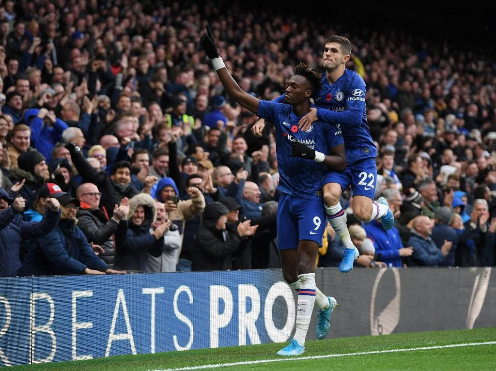 Chelsea Vs Palace: Menang 2-0, The Blues Naik ke Posisi Dua