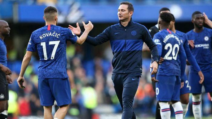 Frank Lampard berharap Mateo Kovacic segera mencetak gol untuk Chelsea. Foto: Paul Harding/Getty Images