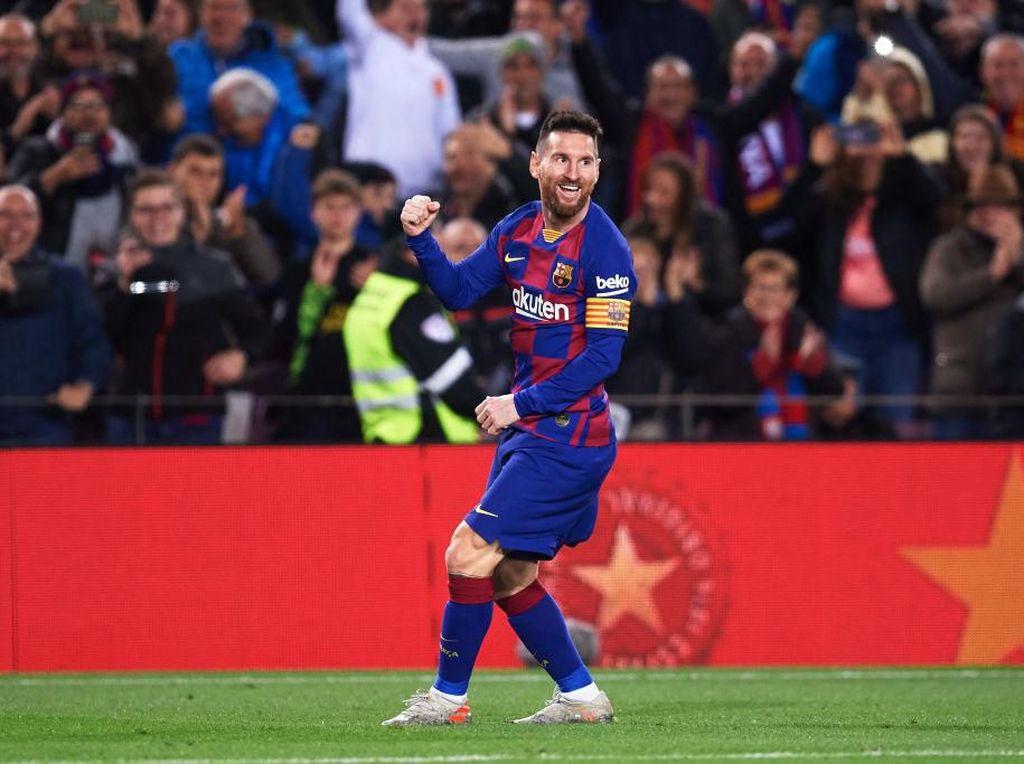 Hat-trick Spesial Lionel Messi yang Samai Rekor Ronaldo
